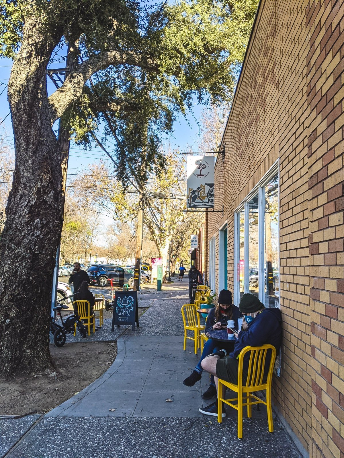 Pachamama Midtown Sacramento Outdoor Seating