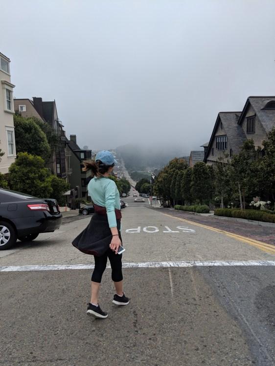 San Francisco hills Viv the Wanderer