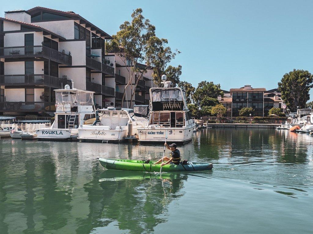 kayak naples canal long beach