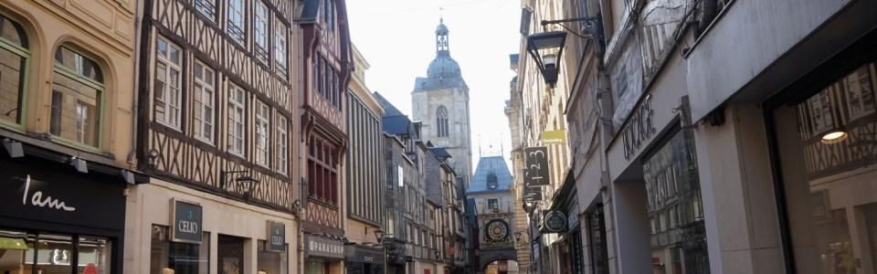 Rue Gros Horloge – Rouen