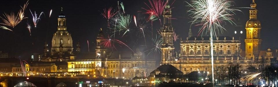 Dresden dịp năm mới