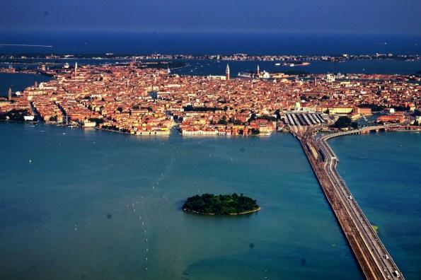 Venice chụp từ máy bay