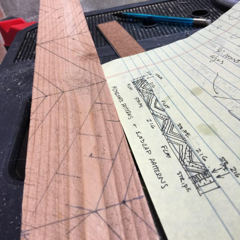 Kilauea Cove - Trim Pattern