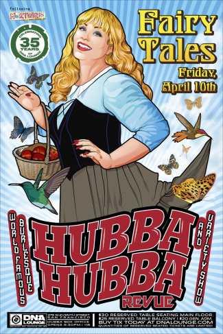 4/10 Hubba Hubba Revue, SF
