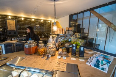 Boutique coffee in Tokyo