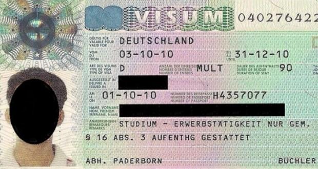 Almanya Ulusal Vize
