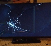 A Smashed Display: What To Do About A TV That Has A Cracked Screen