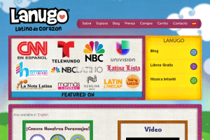 Bebe Lanugo WordPress Multilingual Site