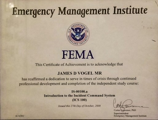 FEMA-Incident Command System