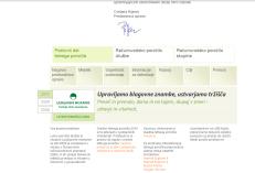 interactive annual report Ljubljanske mlekarne - footer