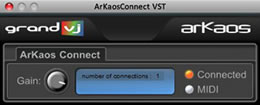 ArKaosConnect VST plugin