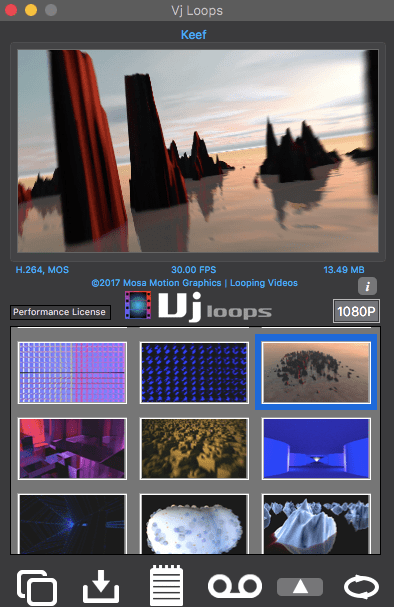 Your Mac based tool for building VJ content   VJ Loops