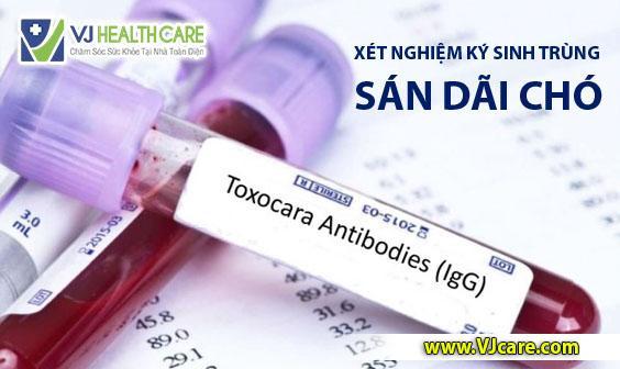 xét nghiệm sán dãi chó toxocara canis xét nghiệm ký sinh trùng ASIA Health