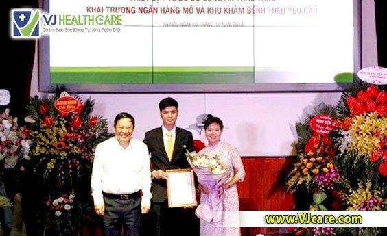 Bệnh viện Việt Đức đưa Ngân hàng mô đầu tiên ở Việt Nam vào hoạt động. Hình ảnh: SGGP