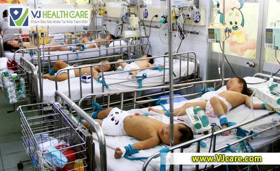dịch tay chân miệng bệnh tay chân miệng bệnh viện nhi đồng 1 tphcm