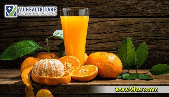 uống nước cam mỗi ngày giuớ hòng ngừa đột quỵ