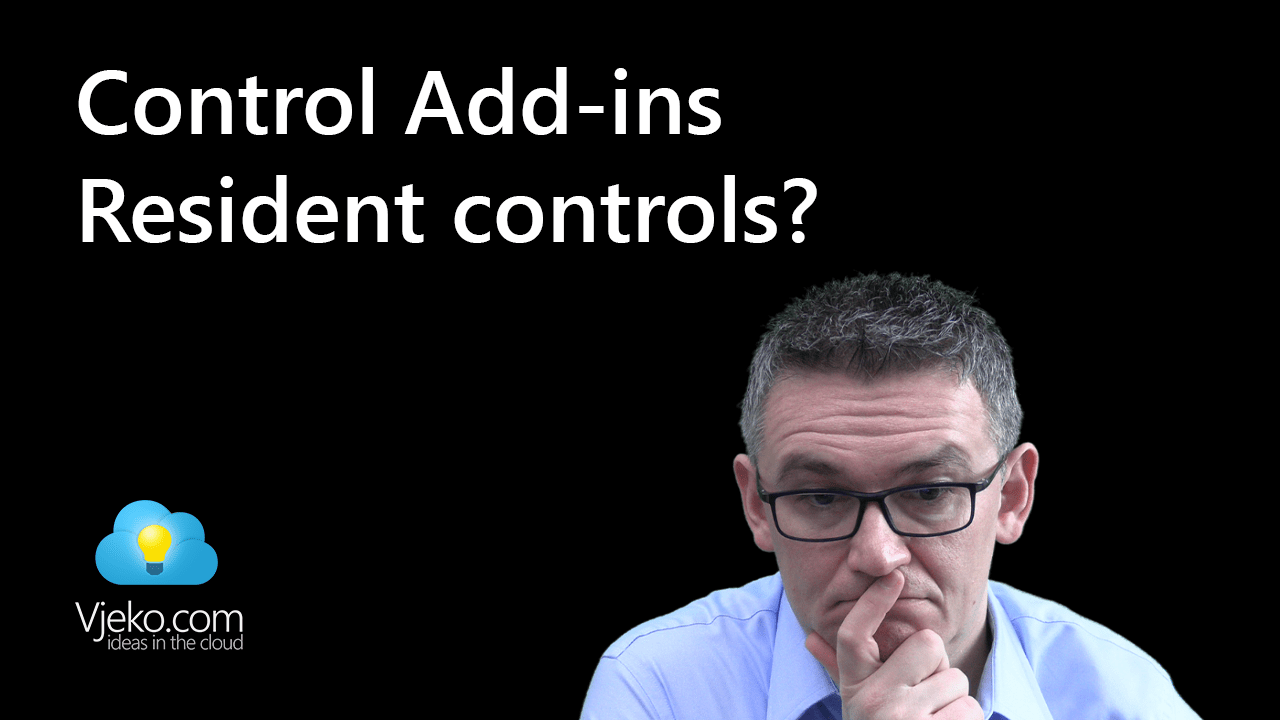 Resident control add-ins