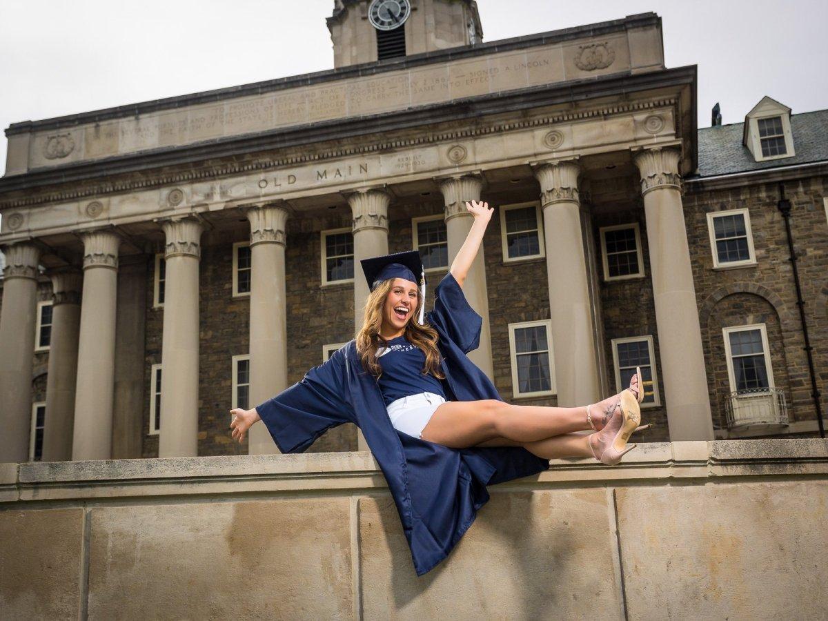 Penn State Graduation photo