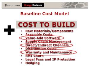 Jon Toigo - Baseline Cost Model