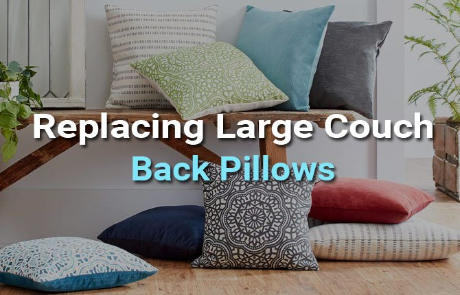 replacement couch pillows bring life