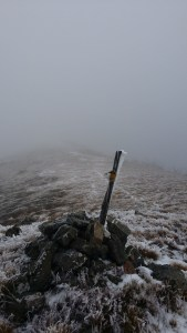 The lower summit of The Twins