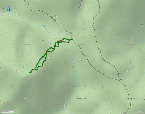 Blue Hill Basecamp track