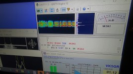 Photo 41 – Working VK3HJ 160m RTTY