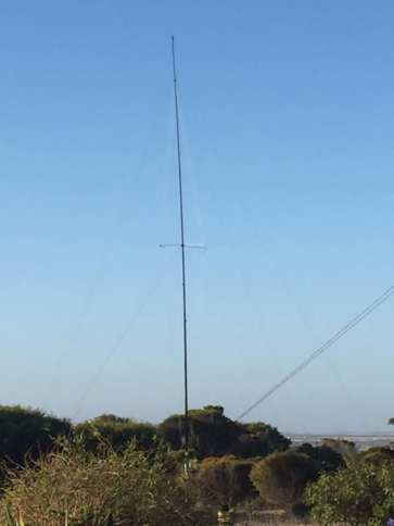 lowband vertical - 40m mode