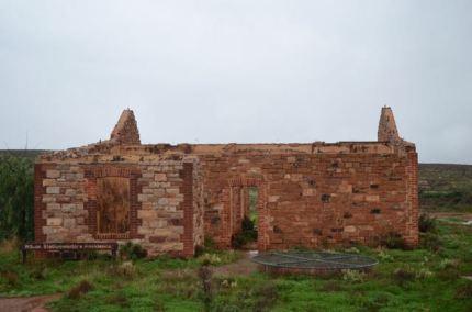 The ruins at Wilson