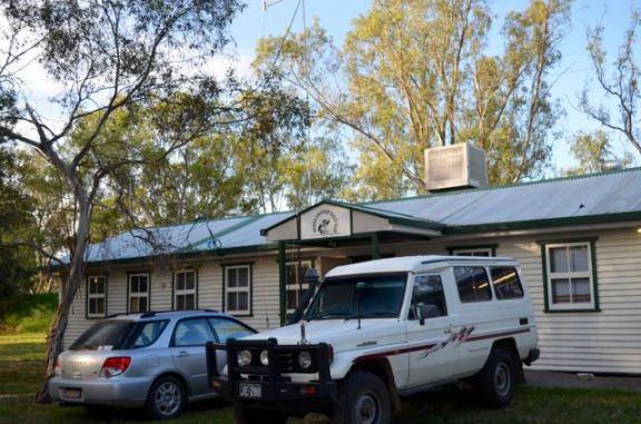 The Wagga Wagga clubrooms