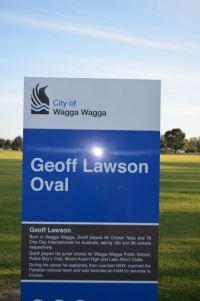 Geoff Lawson Oval