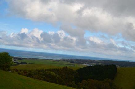 The view back towards Apollo Bay