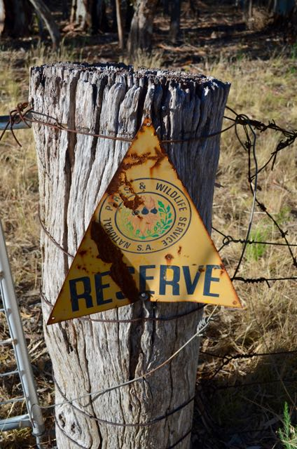 Old NPWS sign