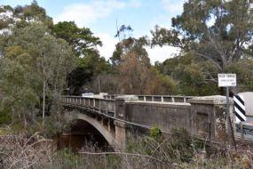 The histric Union bridge