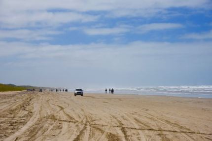 Goolwa Beach, looking east