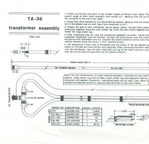 TA36 Transformer