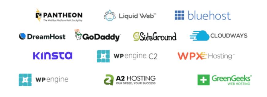 12 hosting services