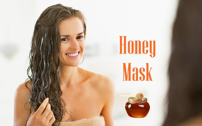 hair masks for split ends - honey mask