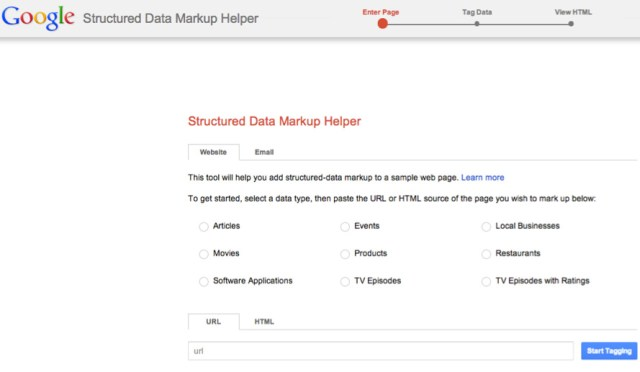 Data markup helper (WordPress SEO - Cách Seo Blog WordPress)