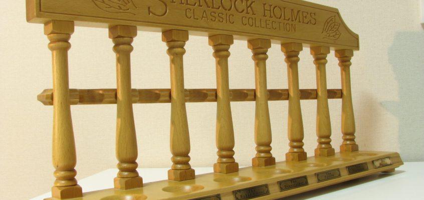 PETERSON Sherlock Holmes pipe rack