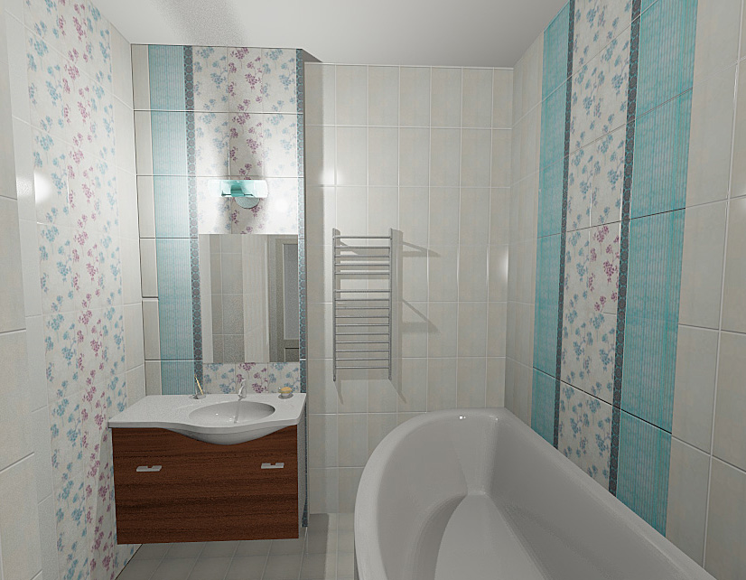 ванная 5 квм дизайн фото 5