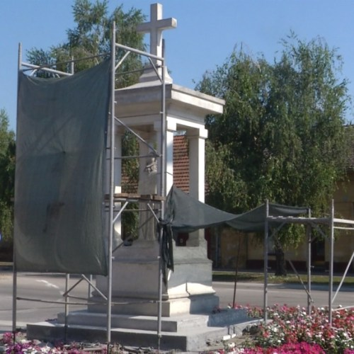 obnova kipa sv roka i kapelice