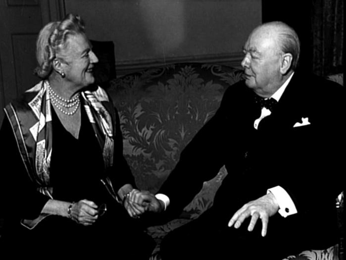 Уинстон с женой Клементиной. Источник: liveinternet.ru
