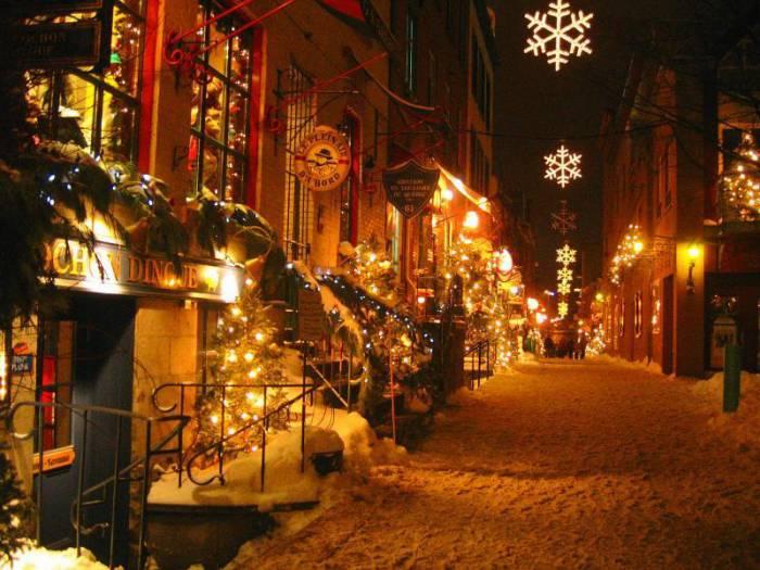 Магия предпраздничного города. Фото pixdaus.com