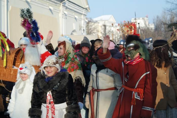 Колядное шествие готово к отправлению!