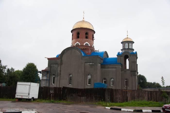 Новая церковь в Шумилино. Фото Анастасии Вереск