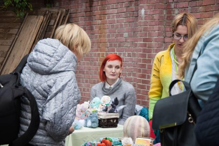 Ремесленники на фестивале. Фото Анастасии Вереск