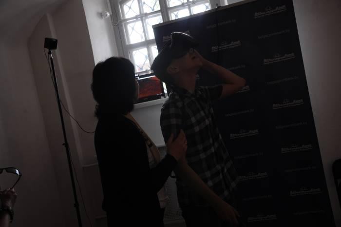 Захватывающая виртуальная реальность. Фото Анастасии Вереск