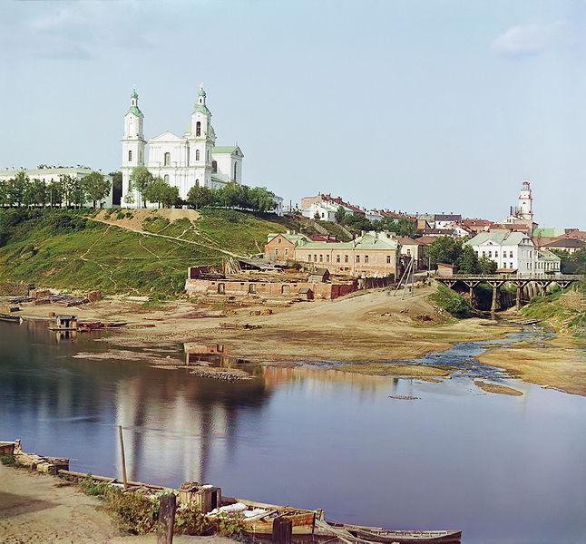 витебск, 1912 год, прокудин-горский