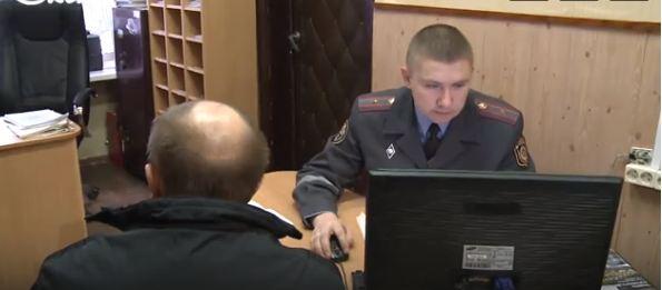 16 января на улице Ленинградской в Витебске произошло ДТП с двумя автомобилями